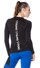 Work Every Muscle Long Sleeve Top