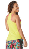 Zumba High Neck Tank With Swarovski Crystals