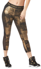 Zumba Love Panel Crop Leggings