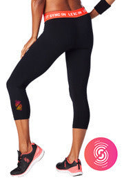 Let It Sync In Capri Legging