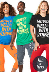 Moves Well With Others Tees 12 PK