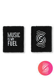 Music Is My Fuel Wristbands 2PK