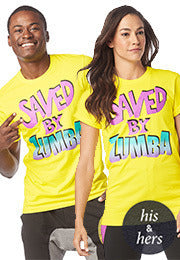 Saved By The Zumba Instructor Tee