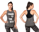 Train To The Beat High Neck Tank