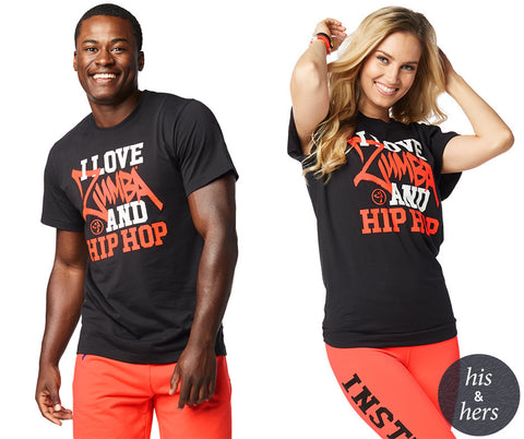Zumba And Hip Hop Tee