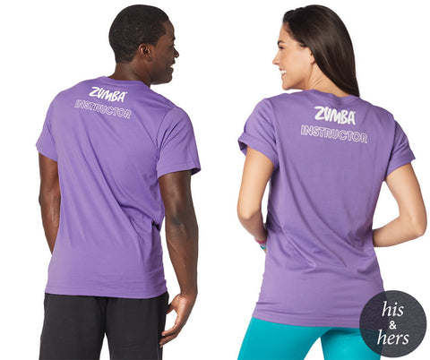 Zumba Believe Instructor Tee