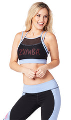Zumba Double Layer Scoop Bra