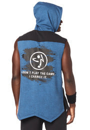 Zumba Game Changer Sleeveless Hoodie