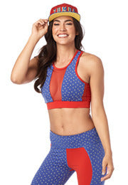 Zumba Hero High Neck Bra