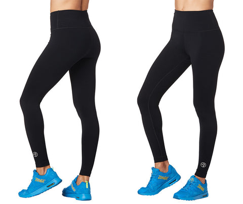 Zumba Forever High Waisted Ankle Leggings