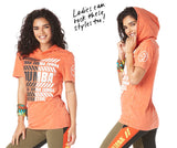 Zumba Instructor Short Sleeve Hoodie