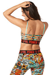 Zumba Power Bra - Crystal