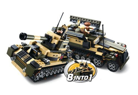 8 into 1 - Military Tank / Utility Vehicle-M38-B0587