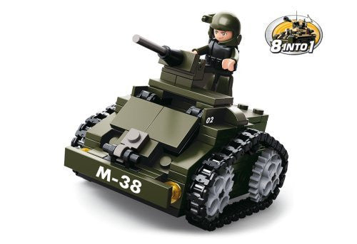 8 into 1 - Military Tank / Utility Vehicle