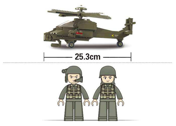 Land Forces II Hind Helicopter M38-B0298
