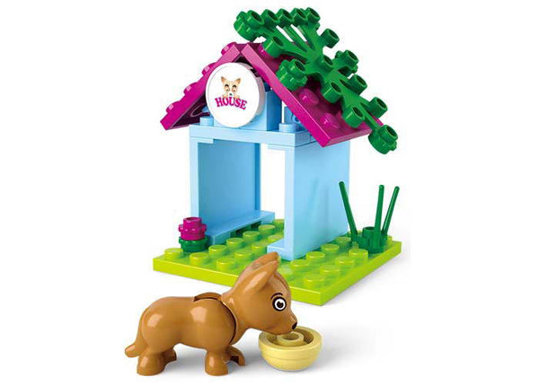 Girl's Dream Dog House Small Set M38-B0513