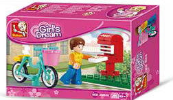 Girl's Dream Letter Delivery Small Set M38-B0516