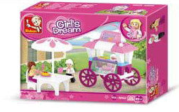Girl's Dream Food Carriage M38-B0522