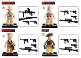 WWII mini figure - 1 blister pack-M38-B0580