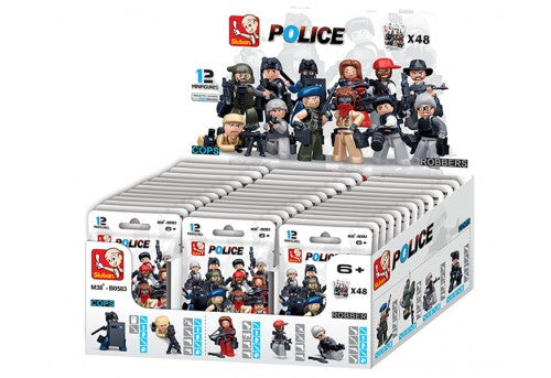 Cops and Robbers - 48 packs in master display case-M38-B05831