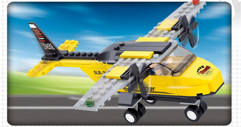 Yellow Training Plane M38-B0360