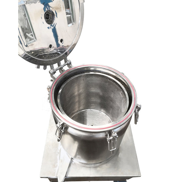 Ethanol Wash and Recovery Basket Centrifuge - 40lb Capacity