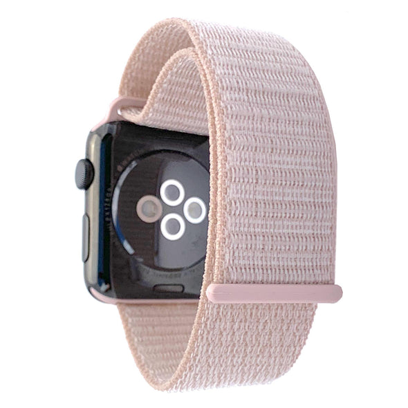 40mm & 38mm Apple Watch Band - Barely Pink - Elemental Cases