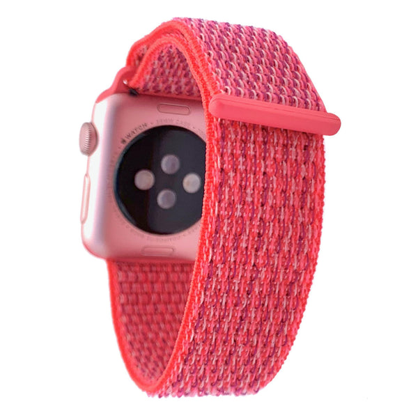 40mm & 38mm Apple Watch Band - Hyper Pink - Elemental Cases