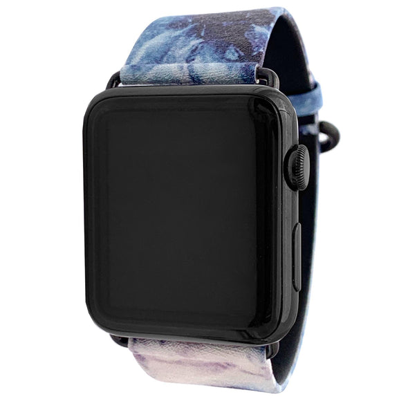 40mm & 38mm Vegan Leather Apple Watch Band - Geode - Elemental Cases