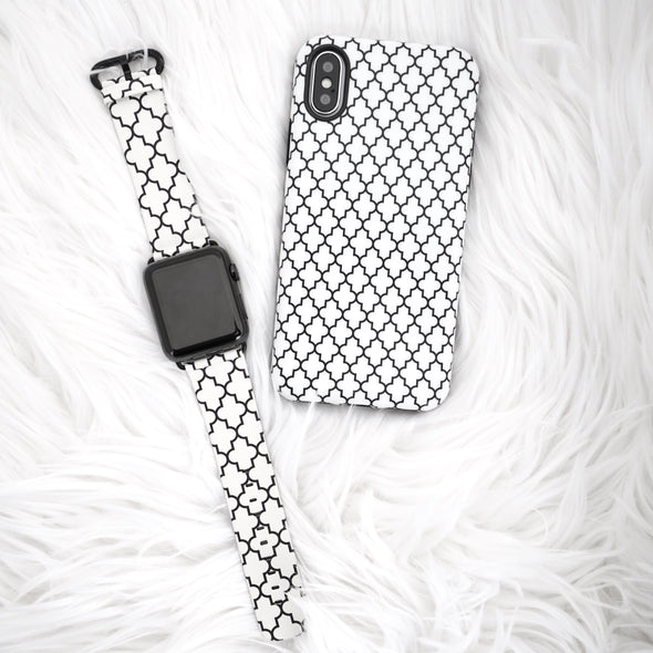 40mm & 38mm Vegan Leather Apple Watch Band - Marrakesh - Elemental Cases