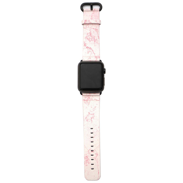 44mm & 42mm Vegan Leather Apple Watch Band - Dusty Pink - Elemental Cases