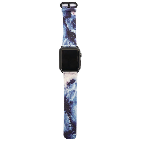 44mm & 42mm Vegan Leather Apple Watch Band - Geode - Elemental Cases
