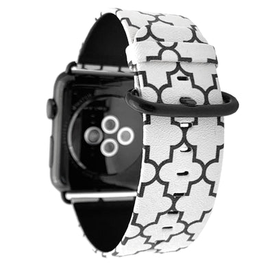 44mm & 42mm Vegan Leather Apple Watch Band - Marrakesh - Elemental Cases