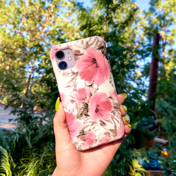 iPhone XS / X Case - Coral Meadow