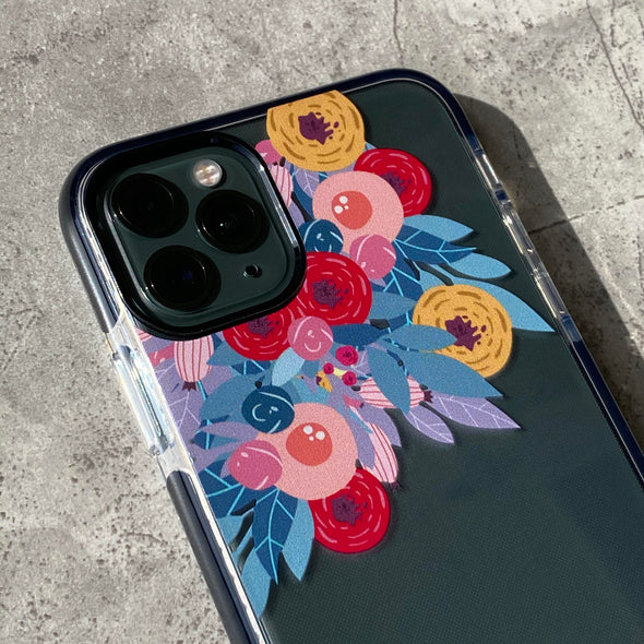 iPhone 11 Pro Max Case - Flower Burst