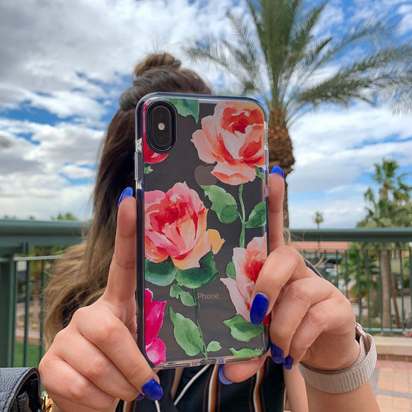 iPhone XS Max Case - Rosette