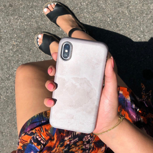 Marble Case for iPhone 8 / 7 - Sandshell
