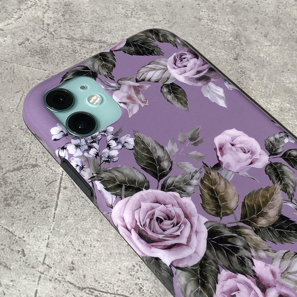 iPhone XS Max Case - Faded Rose