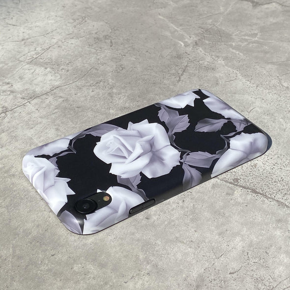 iPhone XR Case - White Rose