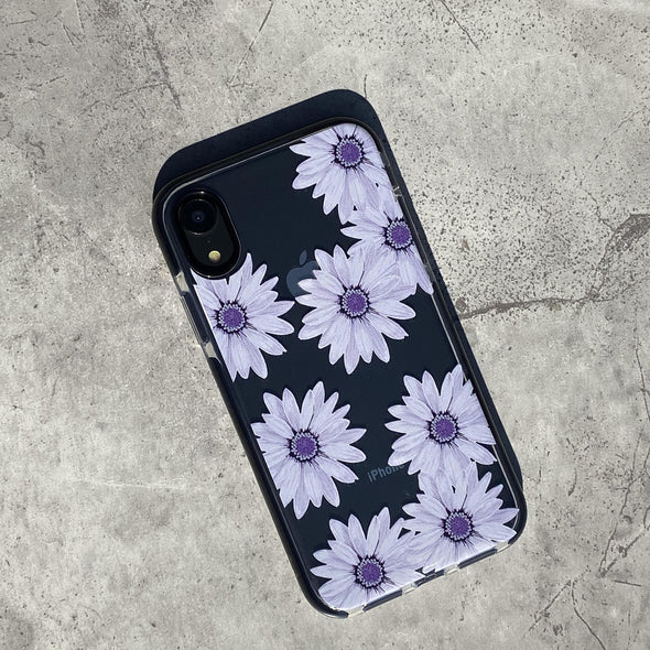 iPhone XS Max Case - Purple Daisy
