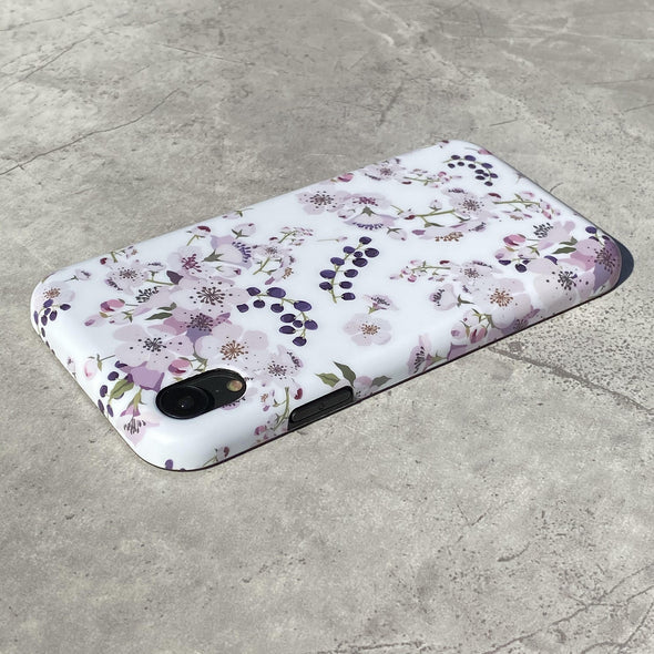 iPhone XS Max Case - Mulberry
