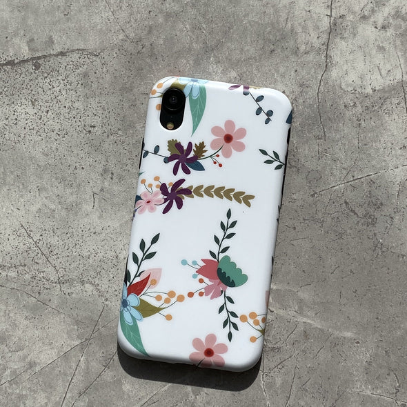 iPhone XS / X Case - Hollyhock