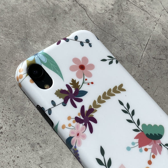 iPhone XR Case - Hollyhock