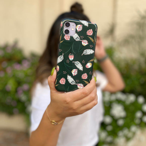 iPhone XS / X Case - Secret Garden