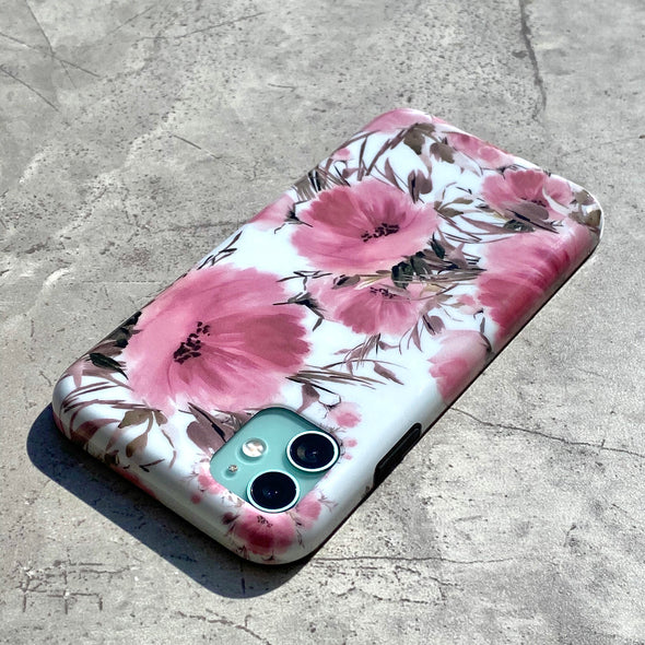 iPhone XS Max Case - Coral Meadow
