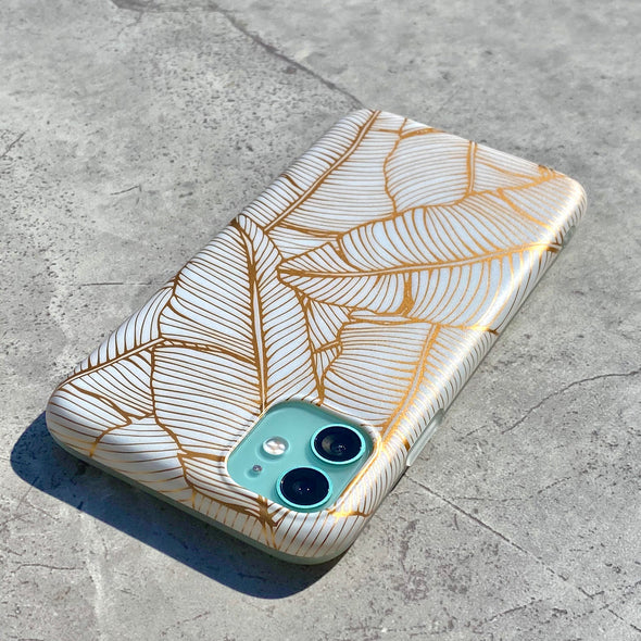 Ultra Thin iPhone XS Max Case - Gilded