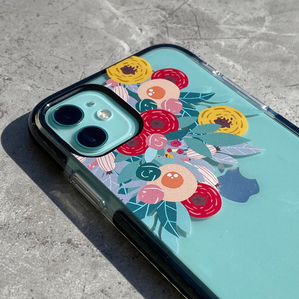 iPhone 11 / XR Case - Flower Burst