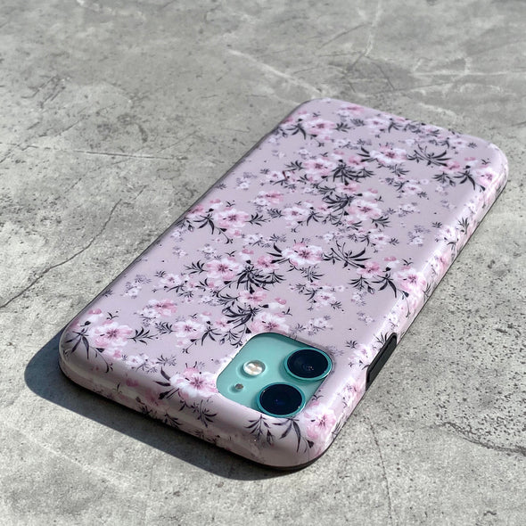 iPhone XS Max Case - Sheer Floral