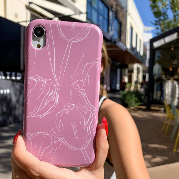 iPhone XS Max Case - Tulips
