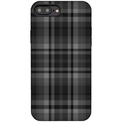Plaid Case for iPhone 8 Plus / 7 Plus Black